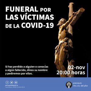 Funeral por los fallecidos de la COVID-19